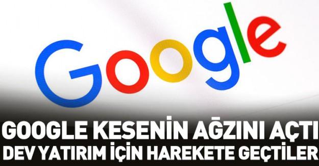 Google'dan Milyar Dolarlık Yatırım!
