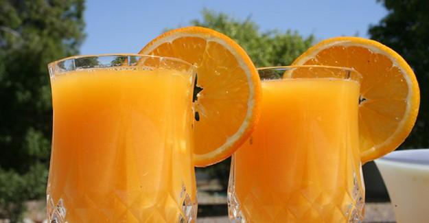 Güne Portakal Suyuyla Başlayın!