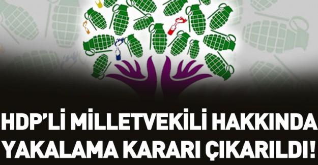 HDP Batman Milletvekili Hakkında Yakalama Kararı!