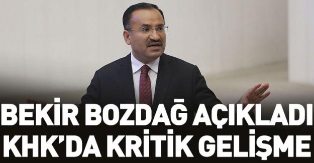 Hükümet Sözcüsü Bekir Bozdağ'dan Kritik Açıklama!