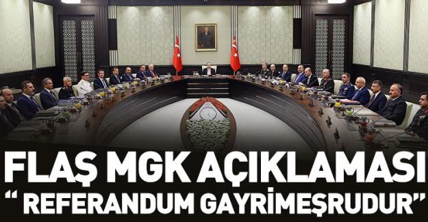 Hükümetten Flaş Referandum Açıklaması!