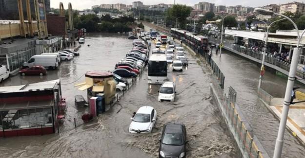 İBB'den Son Dakika 'Yağmur' Açıklaması!