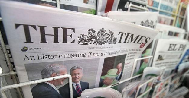 İngiliz Times: Batı Erdoğan'a Karşı Sesini Yükseltmeli