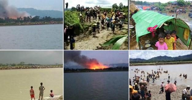 İnsan Hakları Örgütü'nden Flaş Arakan Açıklaması! En Az 10 Yangın