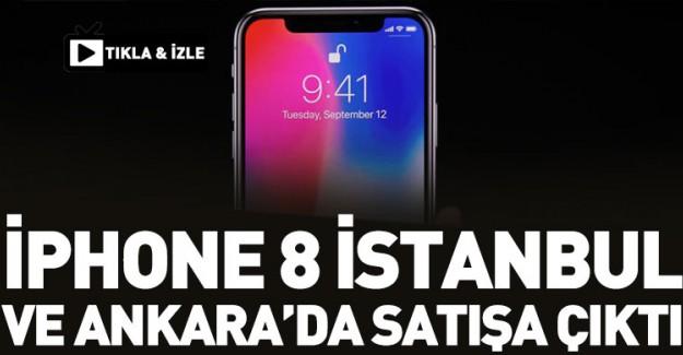 İphone 8 İstanbul ve Ankara'da Satışa Çıktı