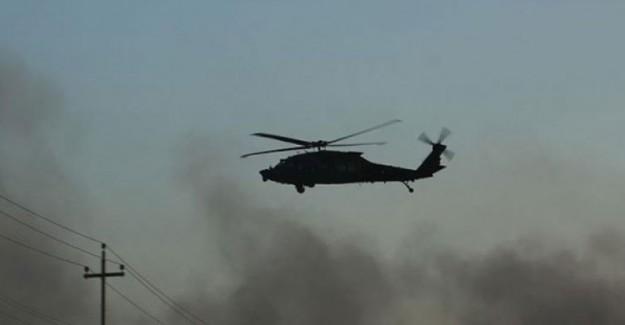 Irak'ta Helikopter Kazası! Ölü Ve Yaralılar Var