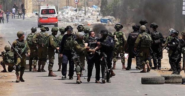 İsrail 19 Filistin Vatandaşını Gözaltına Aldı