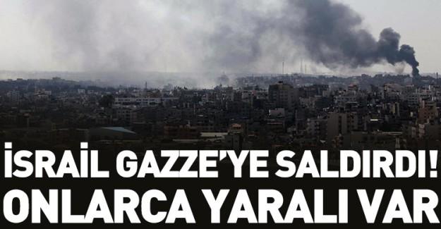 İsrail Gazze'ye Saldırıyor