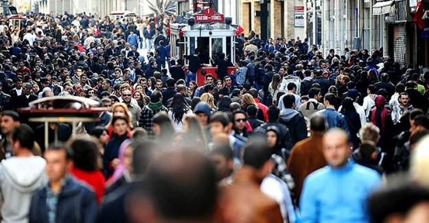 İstanbul Nüfusunu 5 Yılda 1 Milyon Artırdı