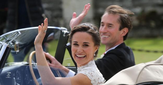 İşte Kraliyet Ailesinin Gelini Pippa Middleton'un Düğününde Giydiği 180 Bin Liralık Gelinliği!