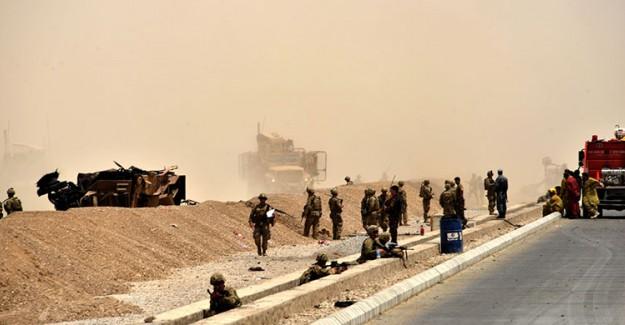 Kabil'de ABD Konvoyuna Saldırı! Ölü Ve Yaralılar Var