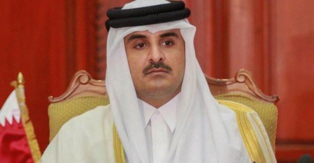 Katar Emiri Al Sani'den Umman Sultanı Bin Said'e Özel Mesaj