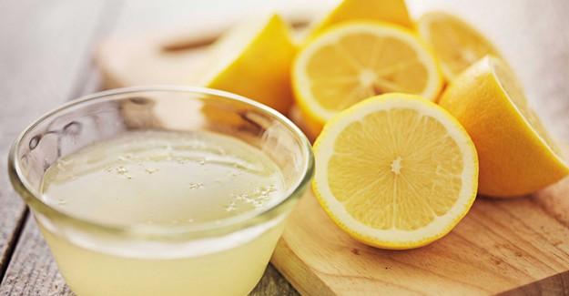 Limon Suyu İle Kırılmayan Güçlü Tırnaklar!