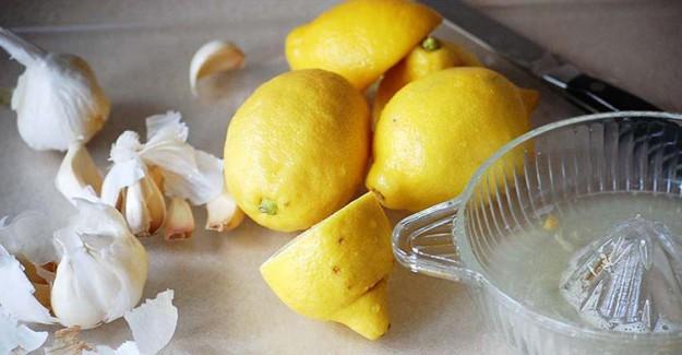 Limon Suyunun İçine Sarımsak Atıp İçerseniz Bakın Vücudunuzda Neler Oluyor?