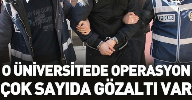 Marmara Üniversitesi'nde Operasyon!