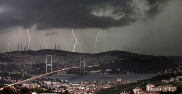 Meteoroloji Uyardı! Fırtına Geliyor!