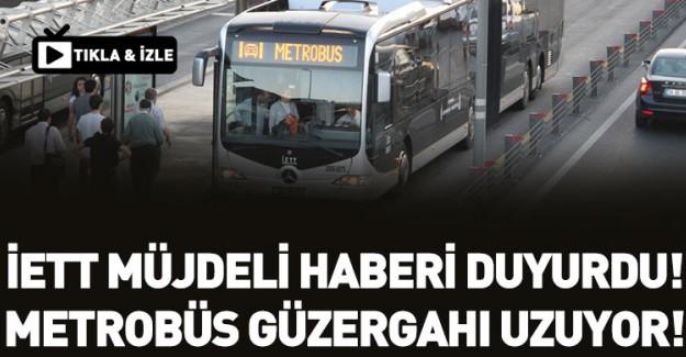 Metrobüs Müjdesi! İETT Açıkladı!