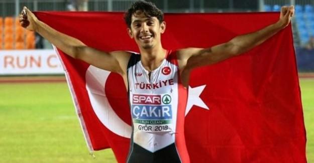 Milli Atlet Batuhan Çakır Rekor Kırdı!