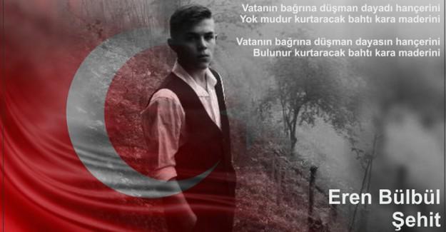 Minik Yürekler Şehidimiz Eren Bülbül'ün Ailesine Mektup Yazdı!