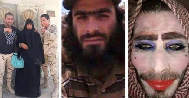 Musul'dan Kaçmak İçin Taklalar Atan Teröristlerin Sonu! Kadın Kılığına Girdiler