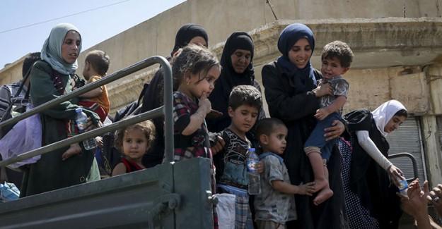 Musul'da Halkın DEAŞ'tan Kaçış Acısı!