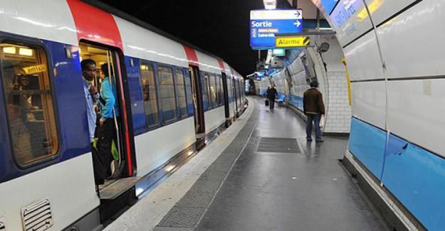 Paris Metrosu Sular Altında!