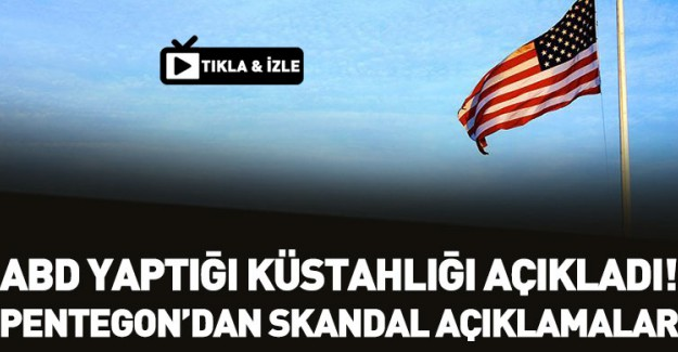 Pentagon'dan 'Öcalan' İtirafı!