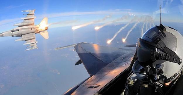 TSK Kuzey Irak'ı Bombaladı!