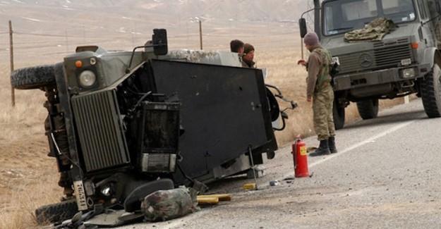 Polis Aracı Kaza Yaptı! 1 Polis Şehit