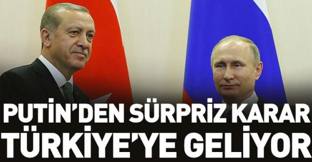 Putin'den Sürpriz Karar!