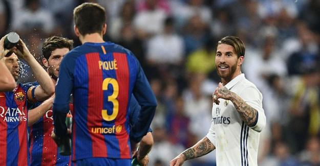 Ramos-Pique Katalonya Yüzünden Birbirine Girdi!