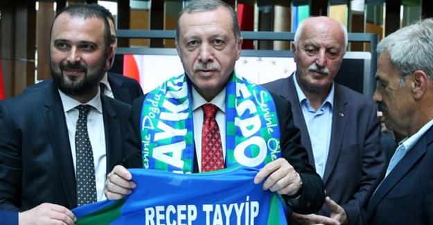 Reis-i Cumhur Çaykur Rizespor'a Ziyarette Bulundu