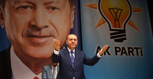 Reis-i Cumhur Erdoğan AK Parti İl Başkanlığı'nda!