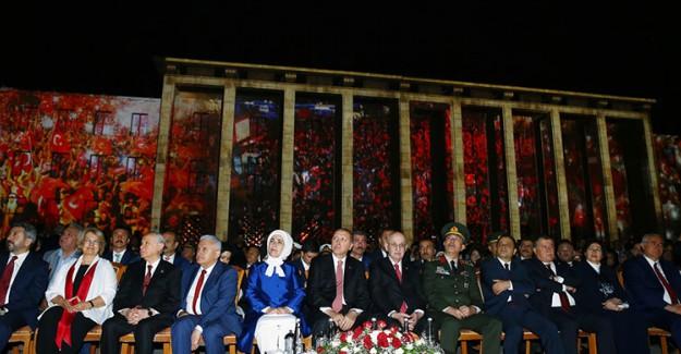 Reis-i Cumhur Erdoğan Ankara'da