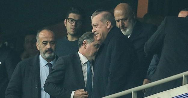 Reis-i Cumhur Erdoğan Beşiktaş-Porto Maçında!