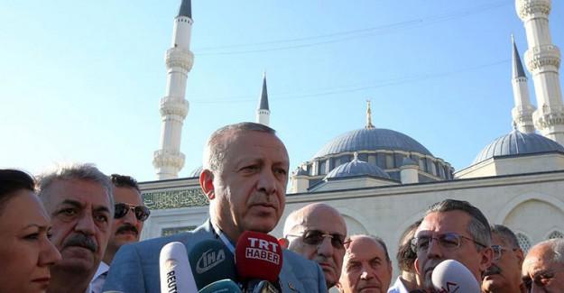 Reis-i Cumhur Erdoğan: Bizi Kandırdığını Zannedenler Yaptığı Hatayı Anlayacak
