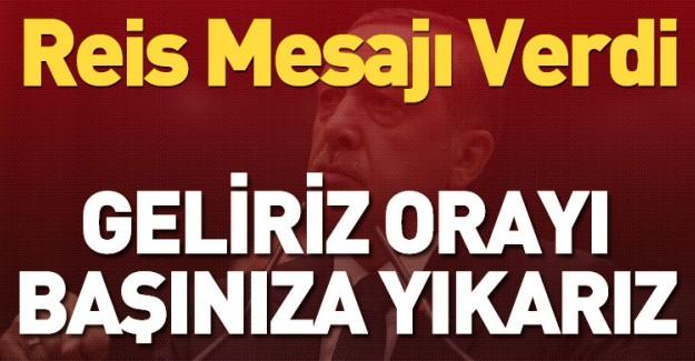 Reis-i Cumhur Erdoğan: Bu Kabul Edilemez!