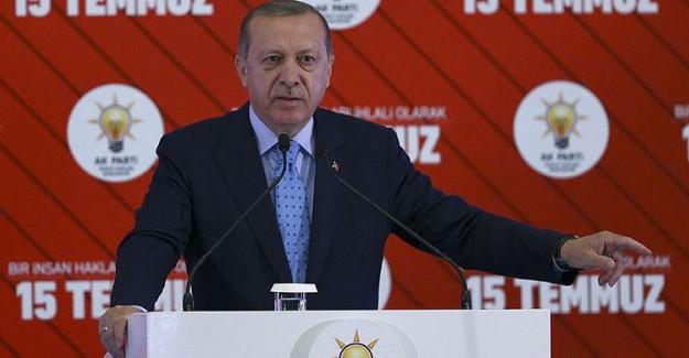 Reis-i Cumhur Erdoğan: Devlet Terörist mi Besleyecek!