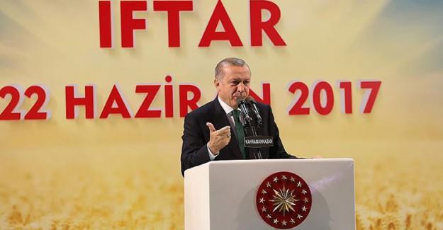 Reis-i Cumhur Erdoğan: FETO Oradan Konuşuyor Kemal Buradan Tekrar Ediyor