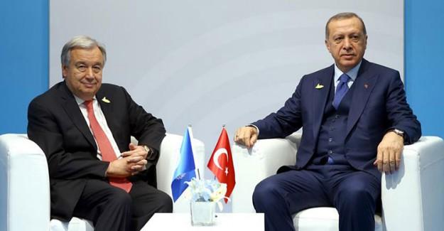 Reis-i Cumhur Erdoğan Guterres İle Arakan'ı Görüştü!