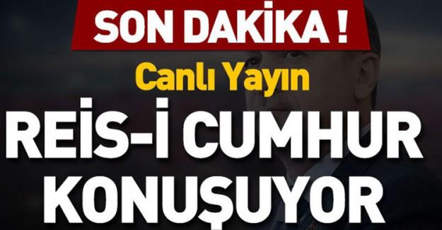 Reis-i Cumhur Erdoğan İİT'de Konuştu!