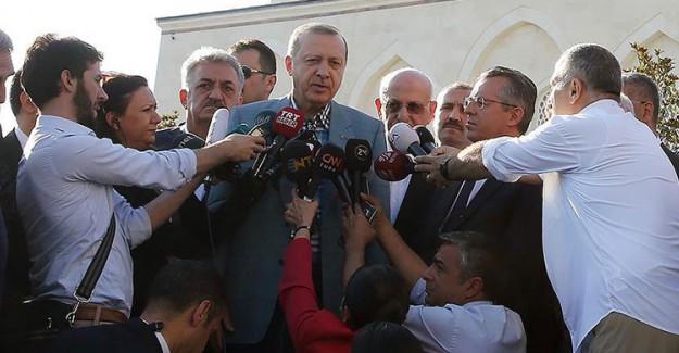 Reis-i Cumhur Erdoğan Korkuttu