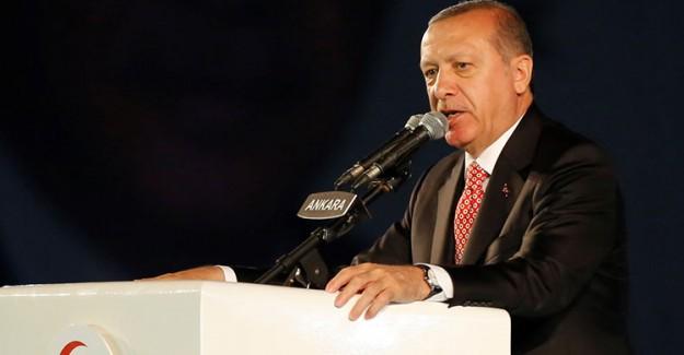 Reis-i Cumhur Erdoğan Şehitler Anıtı'nın Açılışını Yaptı
