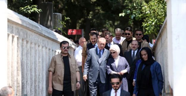 Reis-i Cumhur Erdoğan'dan Anlamlı Ziyaret
