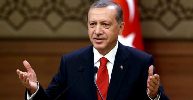 Reis-i Cumhur Erdoğan'dan Sert Açıklama! Yollar Yürümekle Aşılmaz