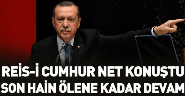 Reis-i Cumhur Erdoğan'dan Kritik Açıklama!