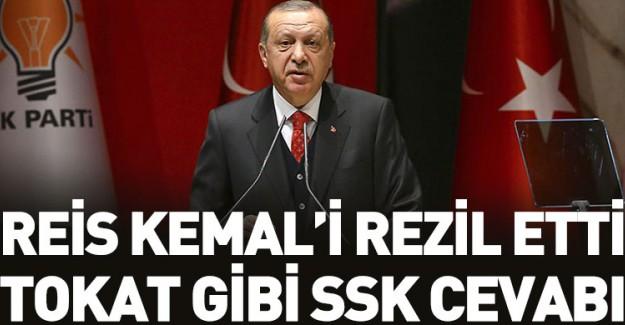 Reis-i Cumhur Erdoğan'dan Kemal'e Tokat Gibi Yanıt!