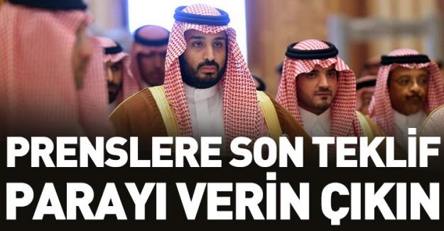 Riyad Yönetiminden Prenslere Son Teklif!