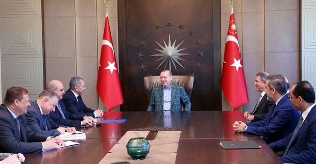Rusya Savunma Bakanı İstanbul'da