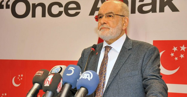 Saadet Partisi CHP'nin Yürüyüşüne Destek Verdi!
